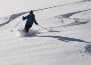Off Piste with a Mountain Guide