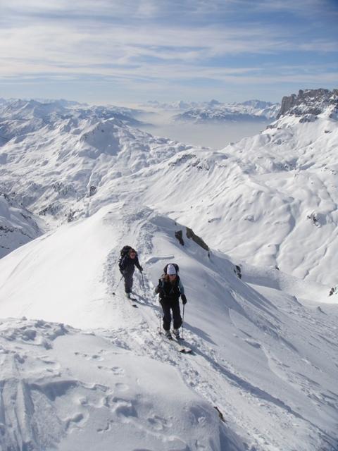 Haute route ski tour chamonix zermatt steve hartland for Haute route chamonix zermatt