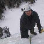 Ice Climbing with Steve Hartland