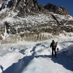 Navigating crevasses
