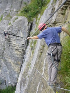 Via Ferrata with Steve Hartland