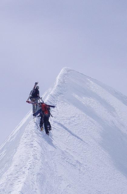 Zermatt 4000m ski tour
