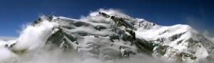 Chamonix scene