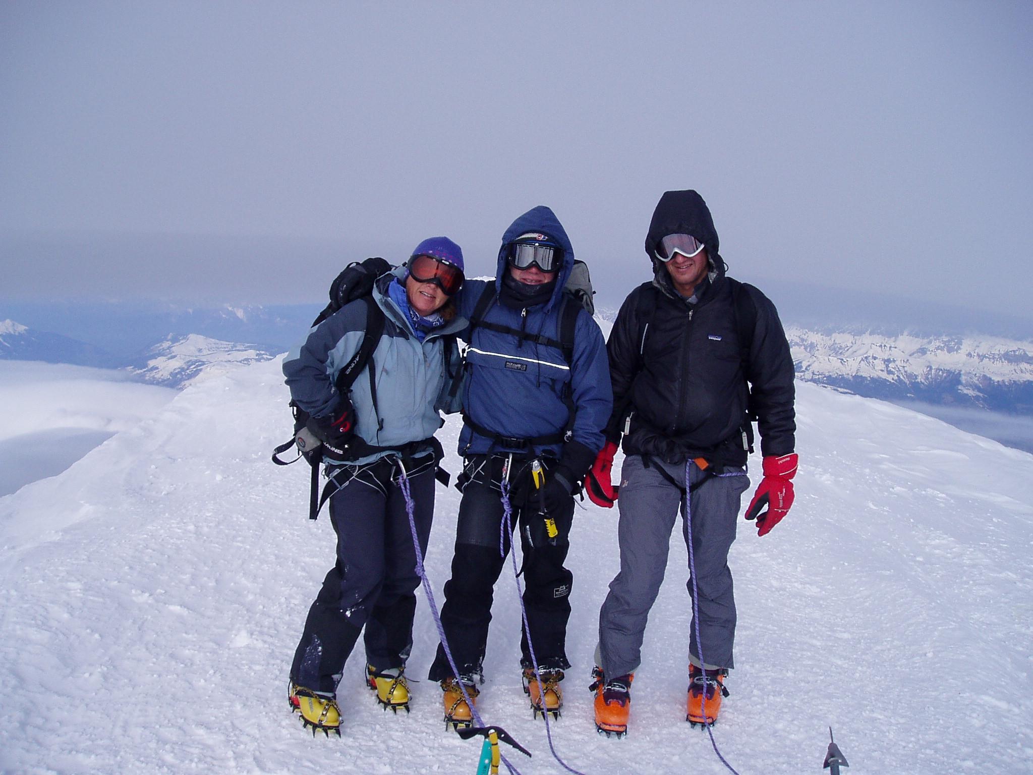 Summit Mont Blanc Chamonix